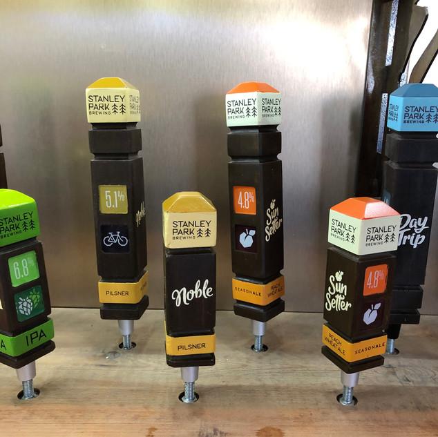 Stanley Park Brewing Tap Handles
