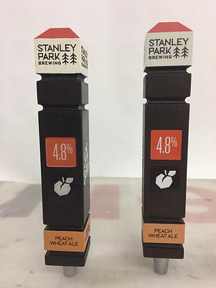stanley park brewing tap handle, tap handle, consultation, beer tap, kombucha tap, cider tap