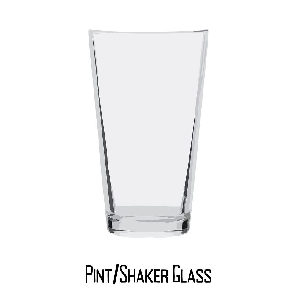 Pint/shaker glass