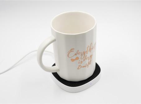 無線充電+智能恒溫雙模式,天寶集團加熱杯無線充電器評測