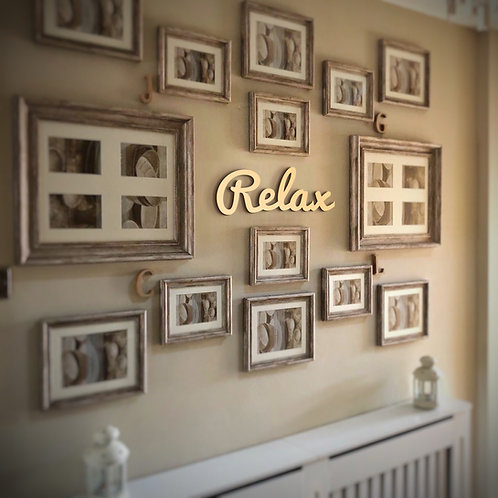 Relax - Wall Decor
