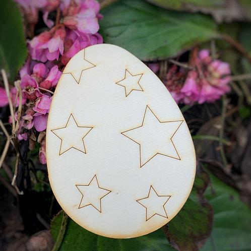 Wooden Easter Egg Hunt