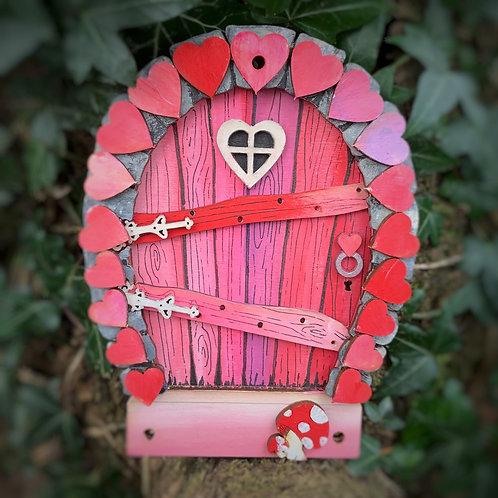Valentine's Fairy Door Set (see video)