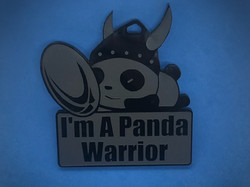 Panda Warrior Medal