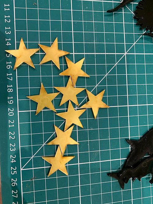 4 Acrylic Stars