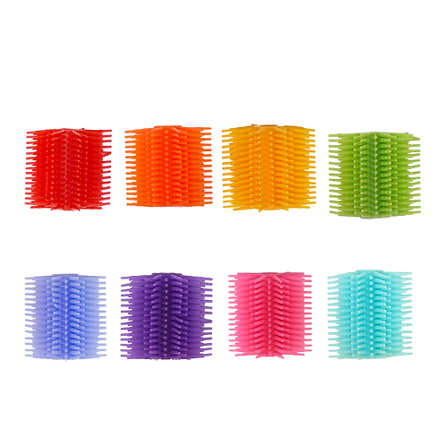 Spike Silicone Fidget Tactile Pencil Grip (Party Pack 8/Assorted Colors)