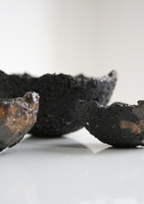Black Basalt & Pinch Bowls