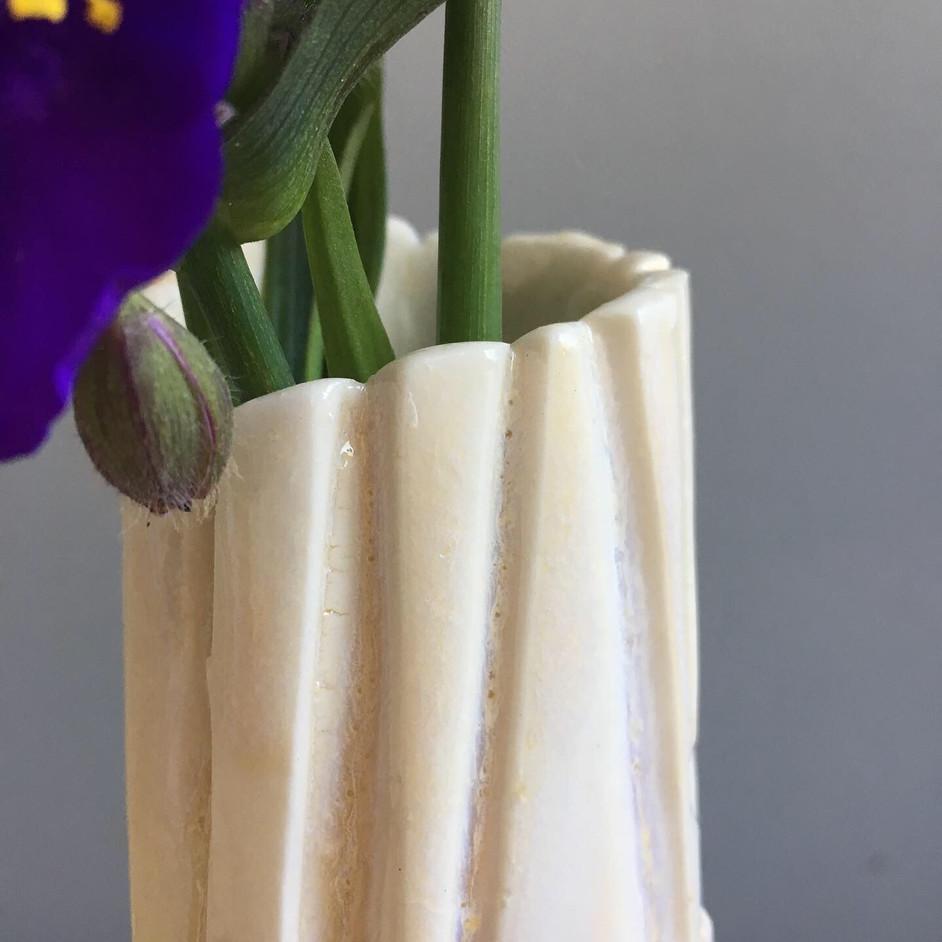 Mellow yellow vase