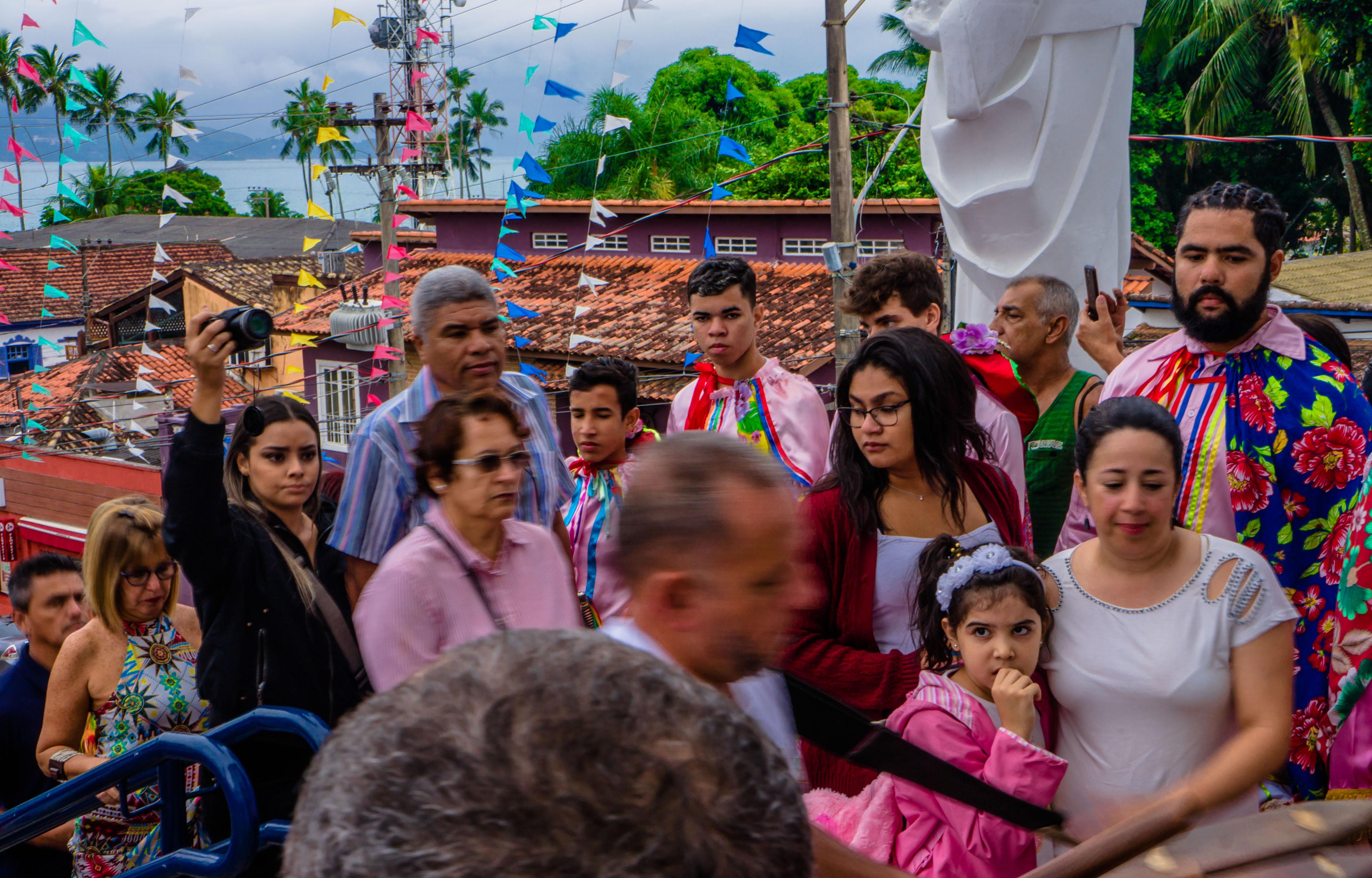 ILHABELA, SP, 21.05.2017 - PROCISSÃO DE SÃO BENEDITO-9