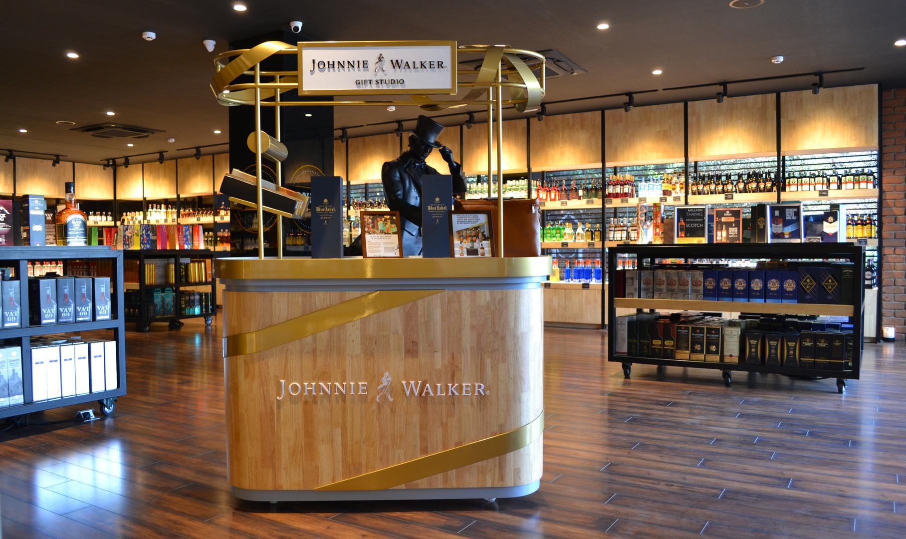 Johnnie Walker Gift Station