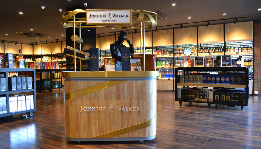 Johnnie Walker Gift Station
