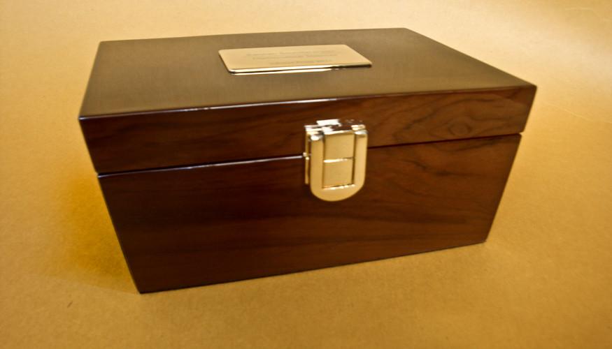 Infosys Medallion Box