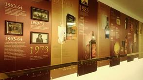 USL Brand History Wall