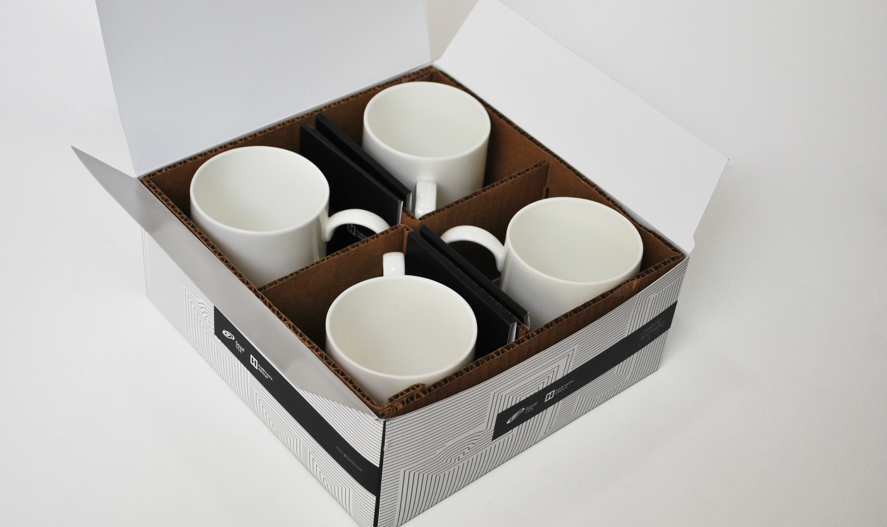 Goyal & Co. Mugs & Packaging