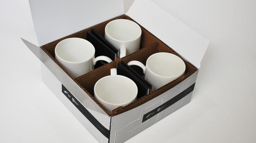 Goyal & Co. Mugs & Packaging