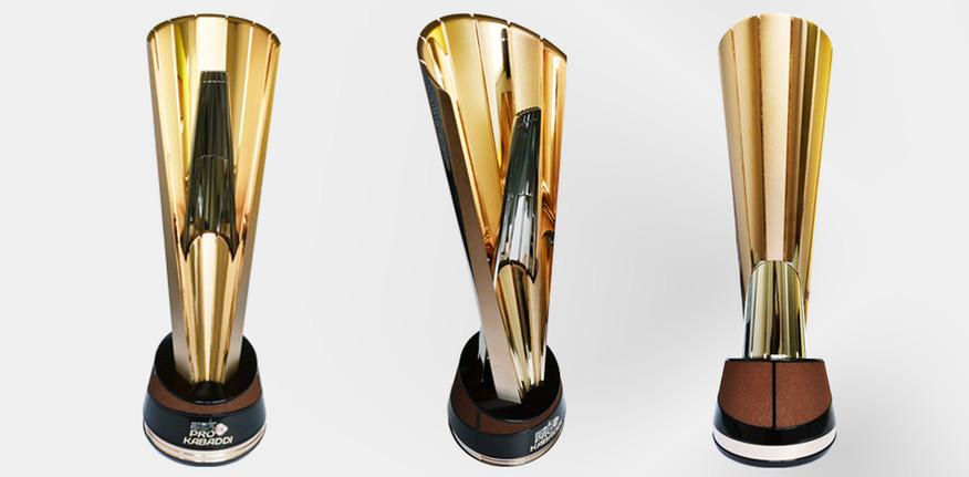 Pro Kabaddi Mens Trophy