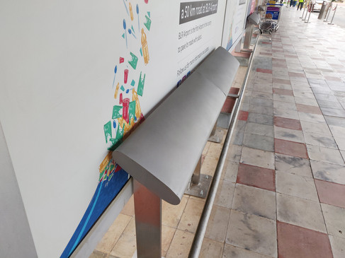 BIAL Bus Shelter Seating System