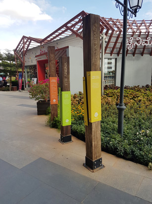 BIAL Retail Plaza Signages