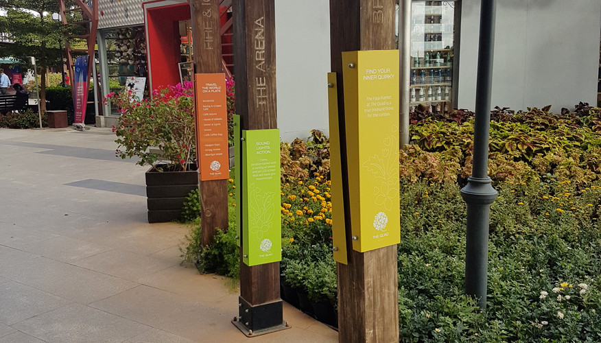 BIAL Retail Plaza - Signages