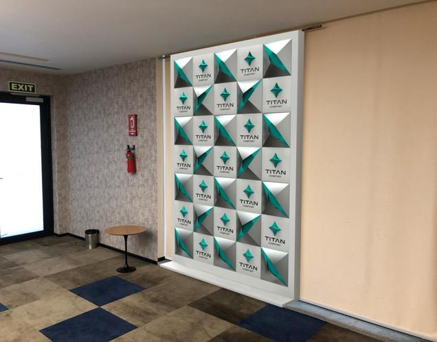 Titan Press Wall