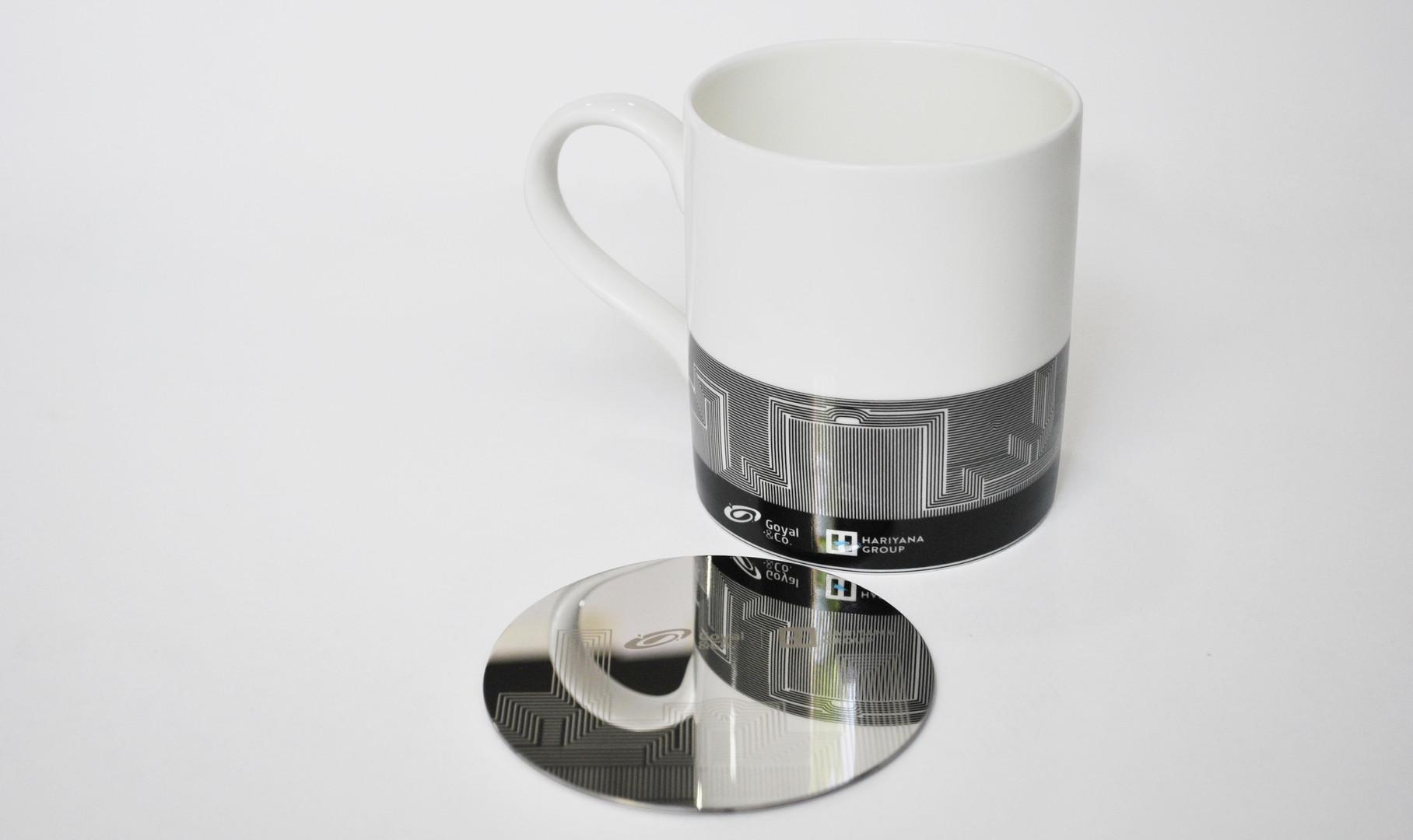 Goyal & Co. Mug & Coaster