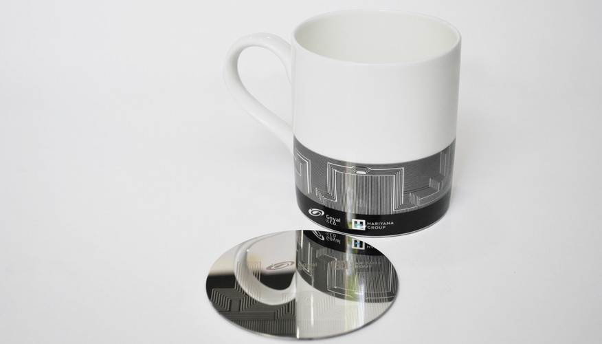 Goyal & Co. Mug & Coaster