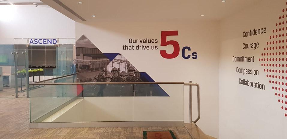 JSW R&D Building - Environment Graphics