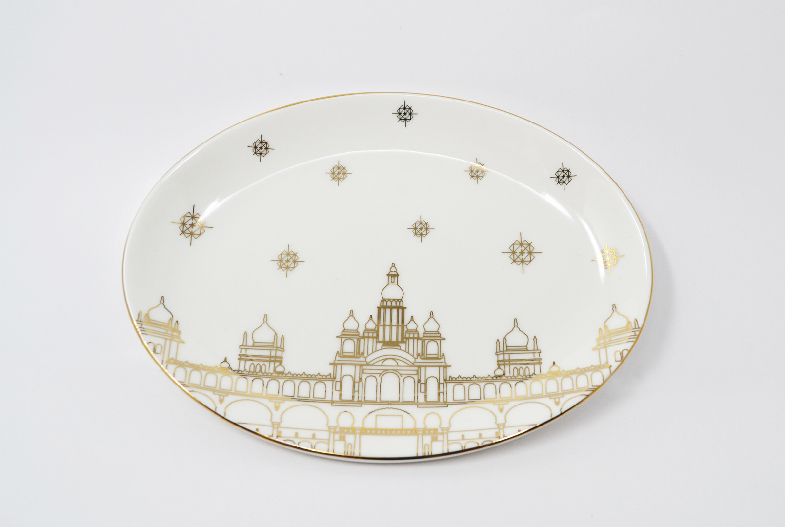 BIAL Mysore Palace Plate