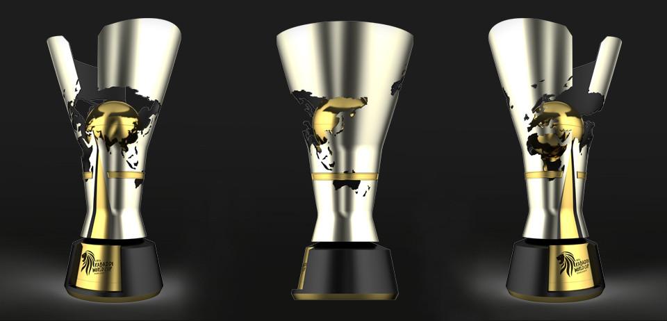 Pro Kabaddi World Cup Trophy