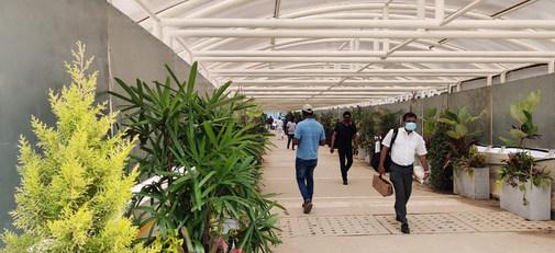 BIAL Pedestrian Walkway