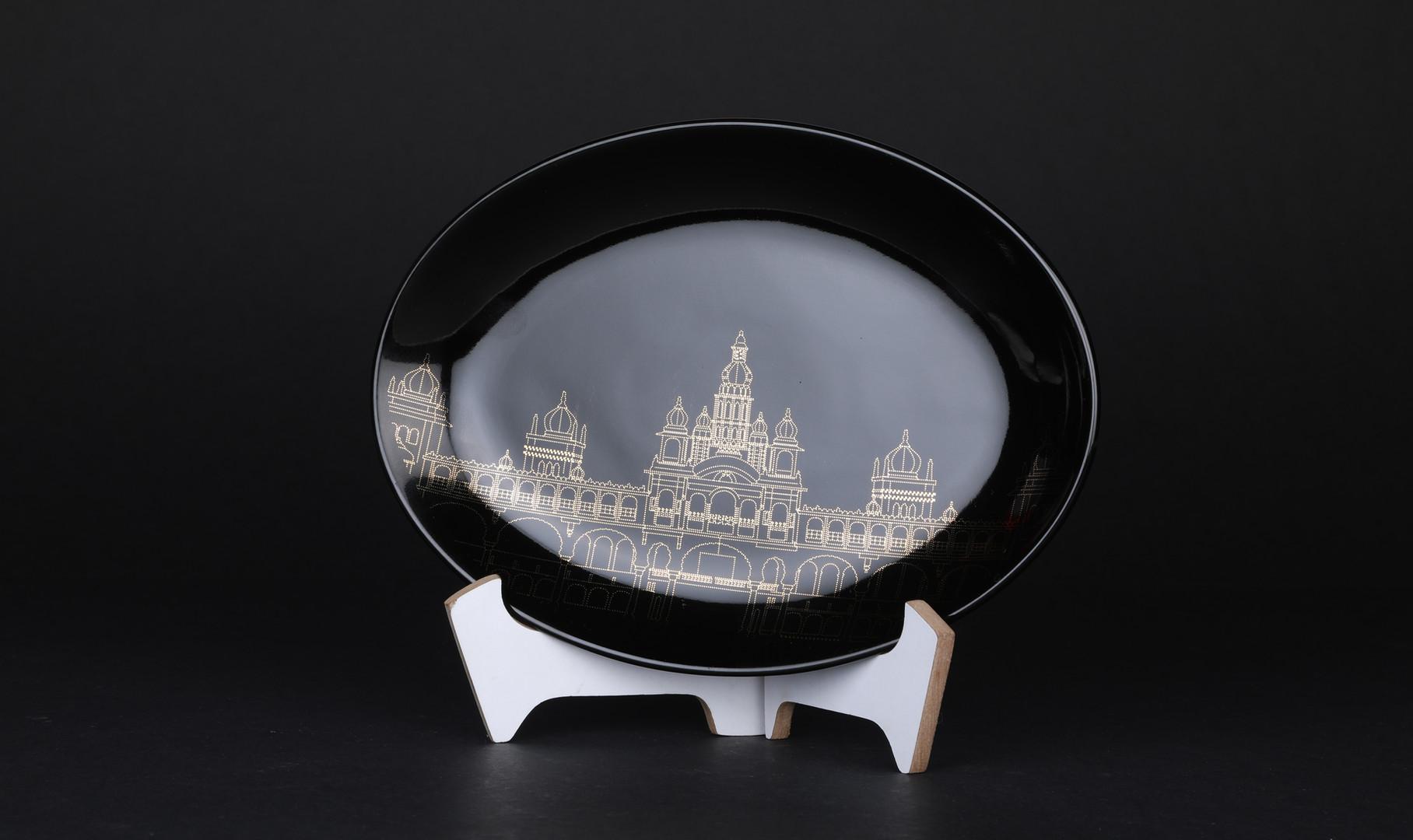 Mysore Palace Souvenir - Black