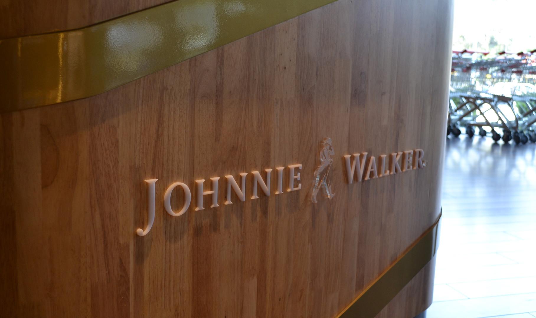 Johnnie Walker Gift Station - details