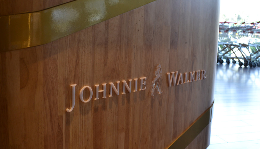 Johnnie Walker Gift Station - details