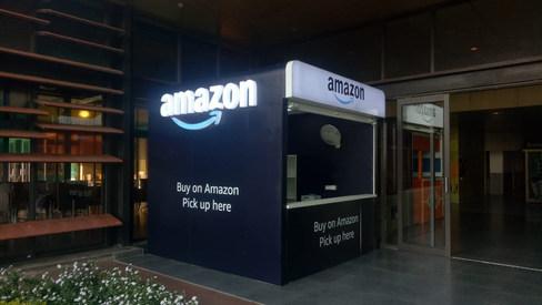 Amazon Brand Kiosks