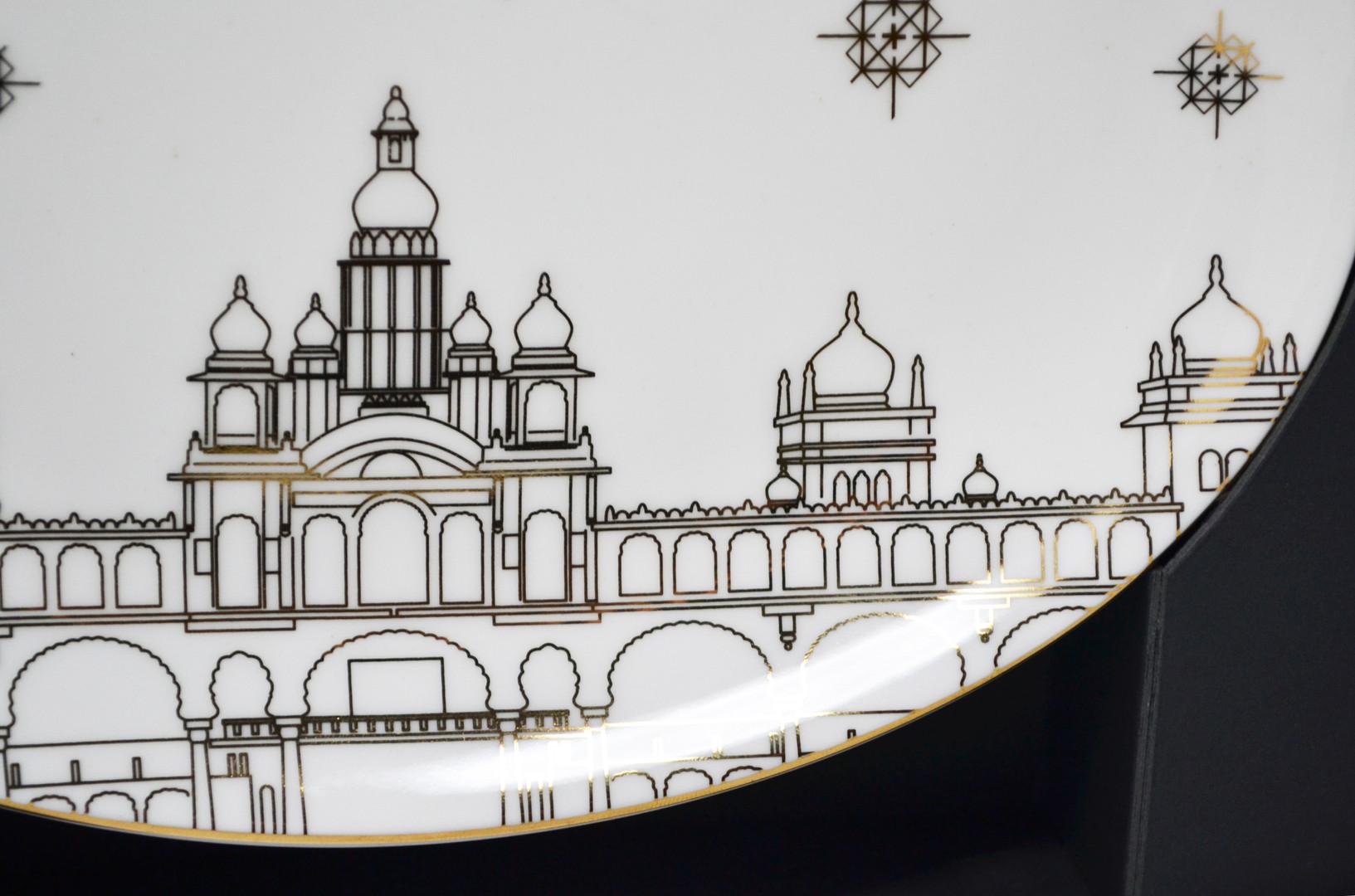 BIAL Mysore Palace Plate