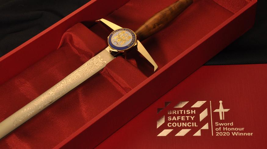Britsafe Sword of Honour