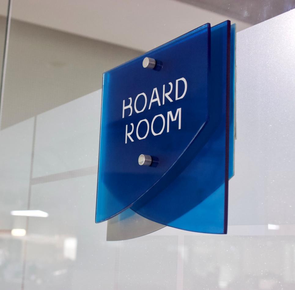 Jaquar Signages in Head Office