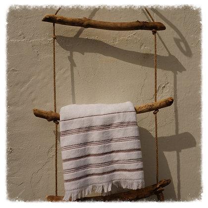 Driftwood Towel Rail - Chunky