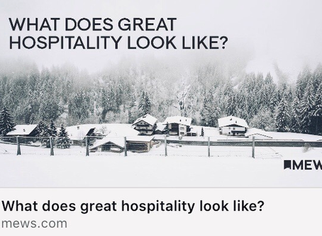 Guest experience vs. real guest experience —Spontaneously written by one of our guests...