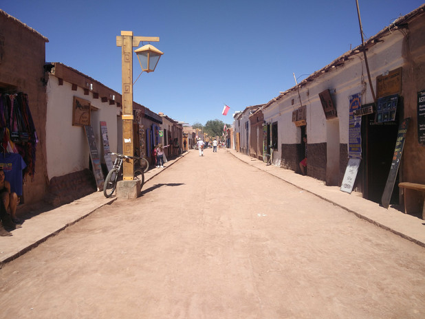 San Pedro De Atacama, a small town in th