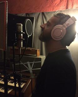 Scarlett Cross Soundtrack recording