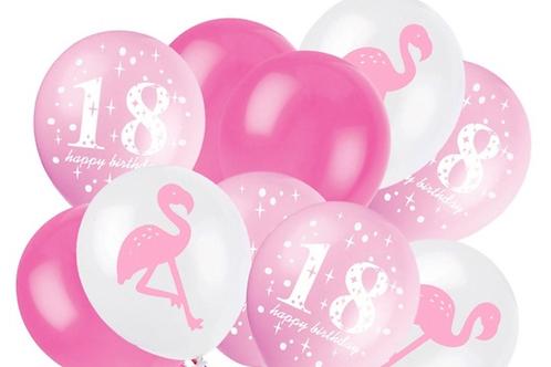 Milestone Birthday Latex displays
