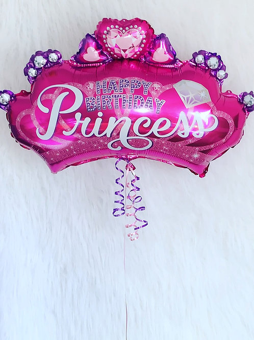 Happy Birthday Princess supersize crown