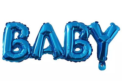 Baby letter balloon sign