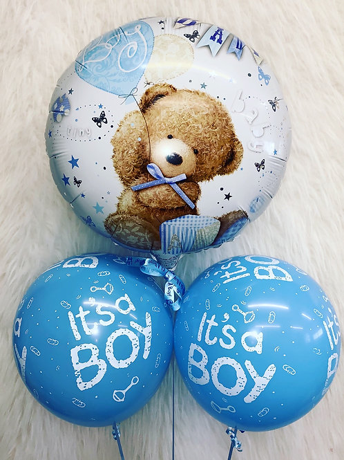New arrival baby boy bouquet