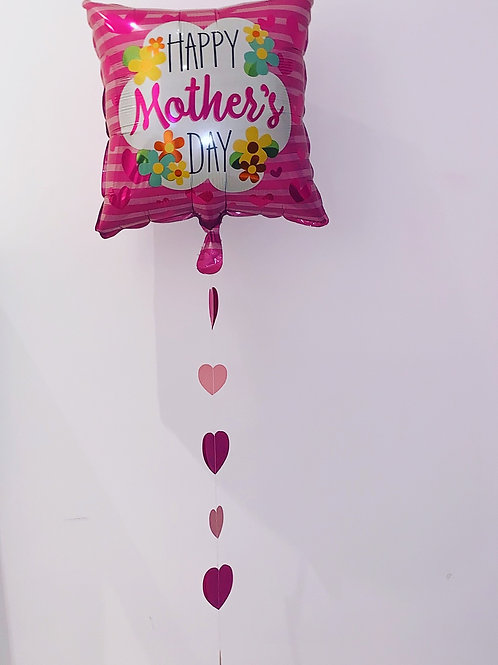 """Happy Mother's Day 18"""" Square Balloon"""