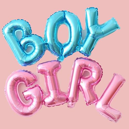 Baby Shower - Gender Reveal Balloon