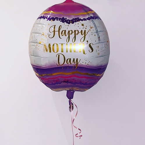 Happy Mother's Day Orbz Balloon