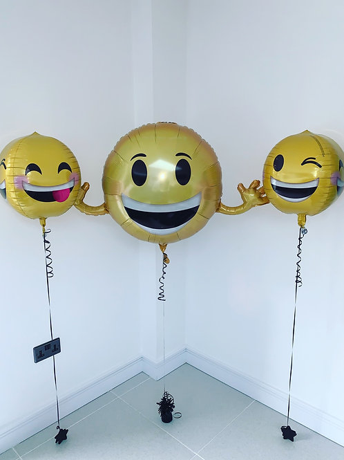 Emoji Party Balloons