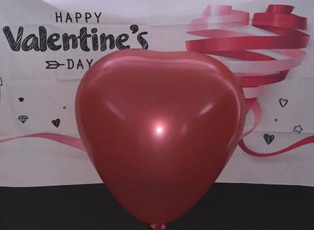 Valentine's Gifts Hertfordshire - love balloons bedfordshire